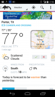 3-18-2014 Porter Weather